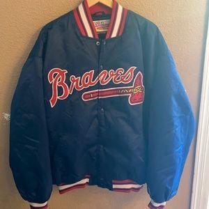 Vintage Atlanta Braves starter jacket